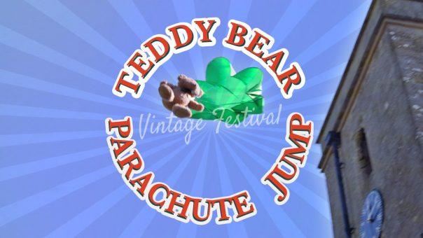Teddybear-Parachute-Jump